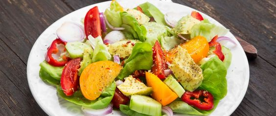 Even a partial plant base diet will help!! A salad made with a variety of vegetables. Salads are part of a plant-based diet.