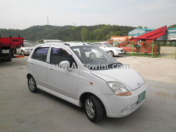 2005 Gm Daewoo All New Matiz 0 8s At Daewoo Used Cars Car Buying