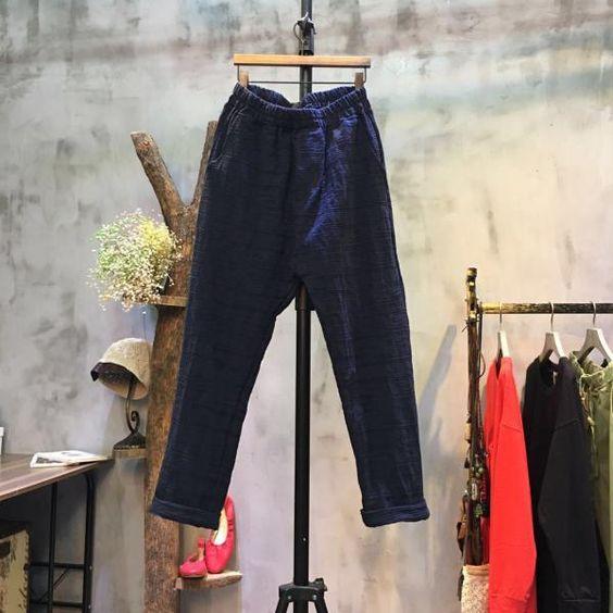 Japan Fashion Cotton Linen Pants Plain Cheap Pants Online #linen ...