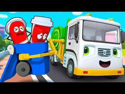 Youtube Camion De Basura Canciones Infantiles Carro De Bomberos