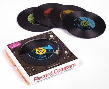 45 Record Coasters