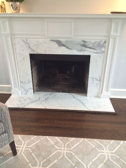 Statuary Marble On Fireplace Surround And Floor Fireplace Makeover Marble Fireplace Firepla Fireplace Surrounds Fireplace Remodel Marble Fireplace Surround