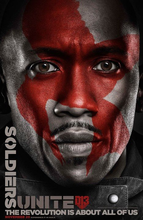 Mockingjay Part 2 Faces of The Revolution Character Posters. Protecting Panem with honor, strength and loyalty - Boggs. #Unite