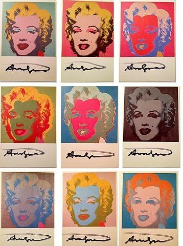 Andy Warhol, Marilyn Set