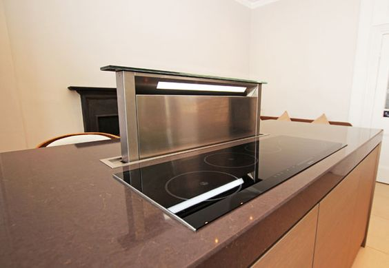 Pop Up Extractors Work Well For Small Kitchen Designs As They Retract When Not In Use They Are