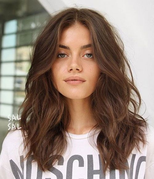 Perfect Layered Wavy Hairstyles For Medium Hair Hair Styles Medium Hair Styles Long Hair Styles