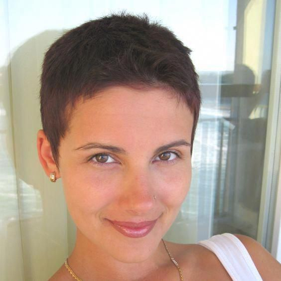 20 Women S Attractive Super Short Hairstyles With Pictures In 2020 Super Short Haircuts Short Hair Styles Very Short Haircuts
