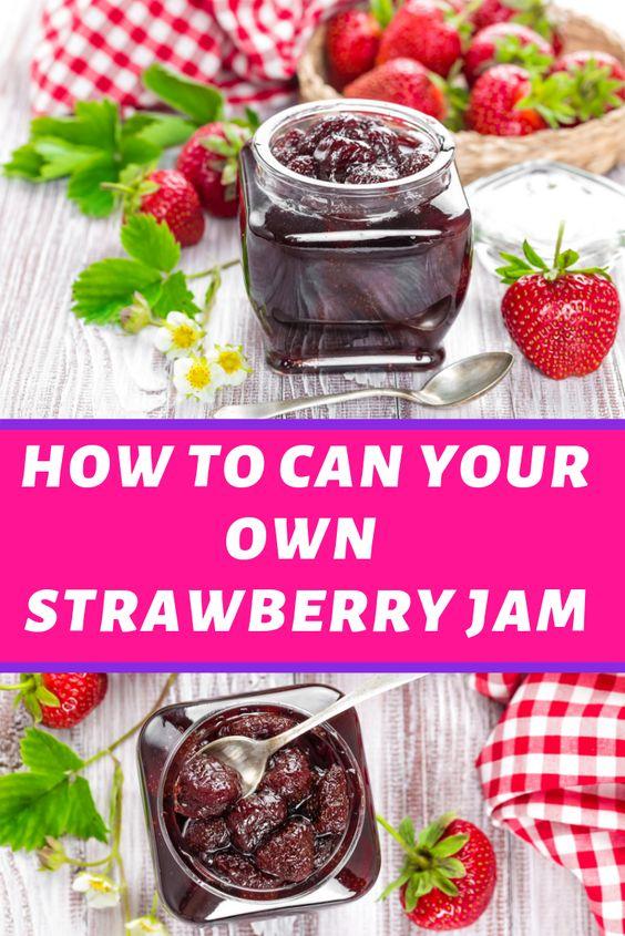Easy Strawberry Jam Dish