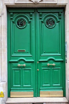 Paris_GreenDoor.jpg 283×425 pixels