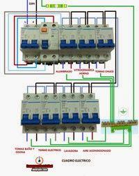 Esquemas el ctricos cuadro electrico monofasico para casa - Cuadros de casas ...