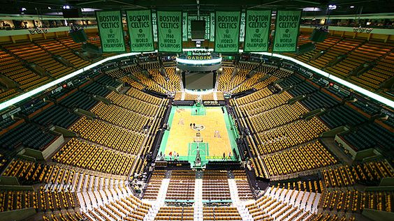 TD Banknorth Garden Sports Craze Pinterest Gardens The