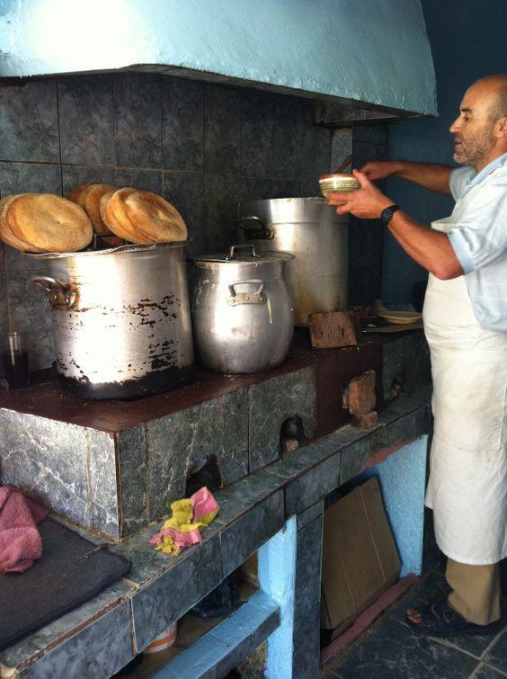 Moroccan food, soup for Ramadan