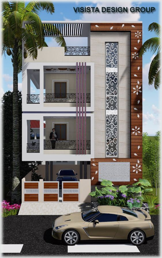 17 Double Floor House Elevation Design In 2020 Small House Elevation Design Small House Design Exterior Small House Front Design
