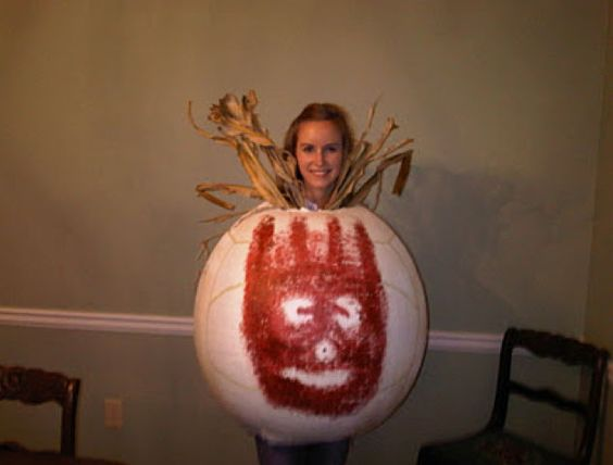 Wilson Volleyball Costume from Castaway