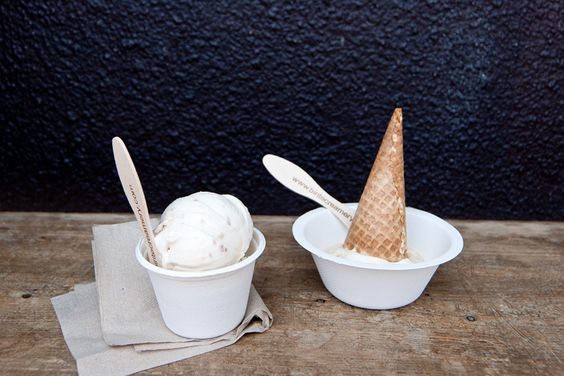 Brown Sugar Ice Cream With A Ginger-Caramel Swirl Recipe — Dishmaps