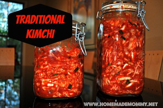 How to make Traditional Korean Kimchi - this one is the REAL deal so I encourage you to try it if you seriously love kimchi via Homemade Mom...