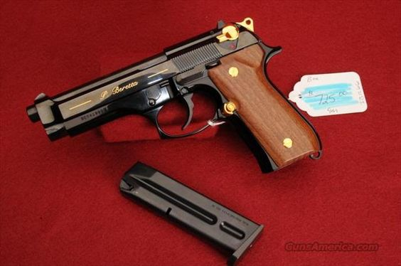 BERETTA PISTOL MOD-92EL .9MM BARREL 5 BLUE for sale (957268740)