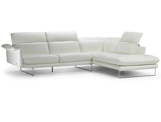 Lovely Italsofa App Leather Sectional
