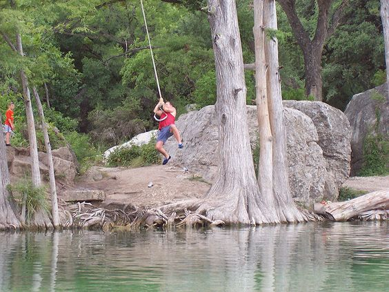 The Frio River in Concan, TX ..... This is where I learned ...