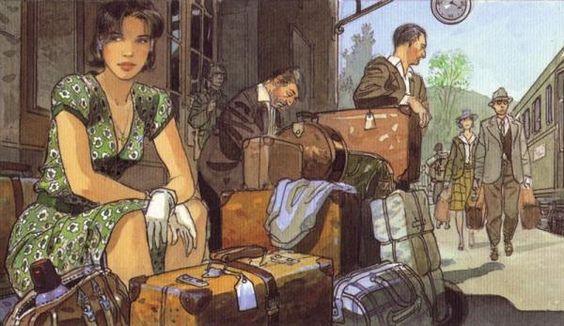 jean  pierre gibrat - Illustrations by Jean Pierre Gibrat  <3 <3