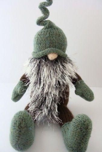 alan dart tomte patterns Gnome Hand Knitted Swedish Tomte BlueShedCrafts ...
