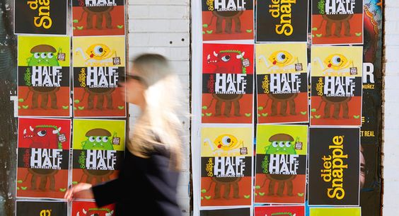 Snapple Half 'N Half | Tad Carpenter Creative