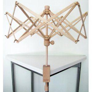 #8: New Wooden Swift Yarn Winder Medium.