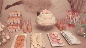 Beautiful Glittery Ballerina Birthday Party