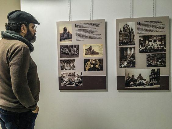 Виктор Шапиро рассказывает про историю синагоги