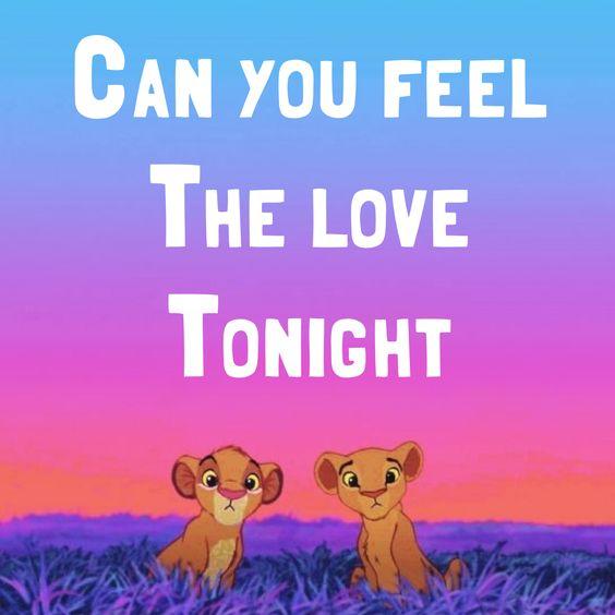 Elton John – Can You Feel the Love Tonight (single cover art)