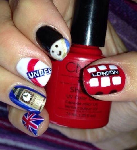 Union jack nail art image collections nail art and nail design ideas nail art in london choice image nail art and nail design ideas nail art salon london prinsesfo Images