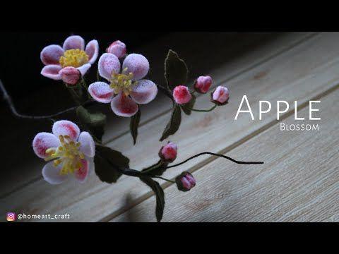 Diy Bunga Flanel Isian Buket Cara Membuat Bunga Apple Blossom