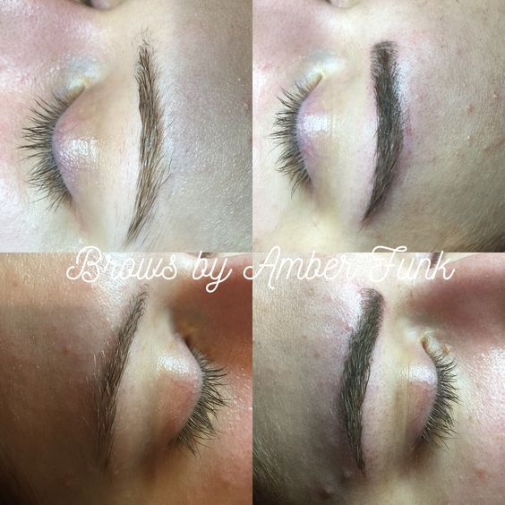 Brow work from today. #microblading #semipermanent #tattoo #cosmetics #makeup #brows #brow #anastasiabeverlyhills #esthetician #esthetics