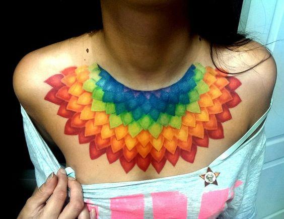 Flarik Akhmetov , rainbow style