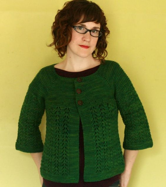 great cardigan... knit this sweater!  free diy.