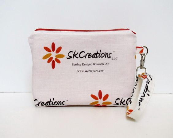 SKCreations, LLC Custom Wristlet Pouch