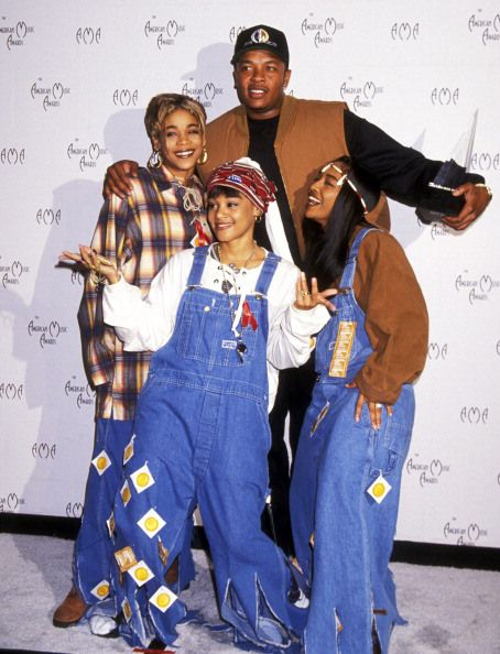 Group 'TLC' TBoz, the late Lisa Lefteye, and Chili. Also Dr. Dre Classic Hip HopArtists #music #celebrities: