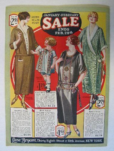 1925 Winter Lane Bryant Catalog 1920 S Catalogs Etc