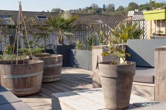 MyHomeDesign - Surélévation de maison avec toit-terrasse - MyHomeDesign: