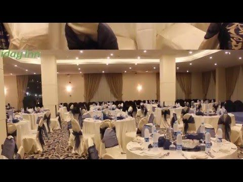 قاعة السالمية فندق هوليداي ان السلام جدة موقع افراحكم Table Decorations Home Decor Decor