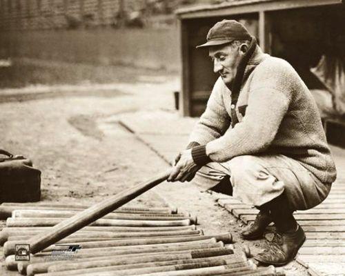 Honus Wagner Choosin Lumber (c.1910) Premium Poster Print - Photofile Inc.
