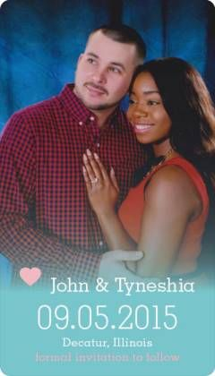 Our save the dates ❤️