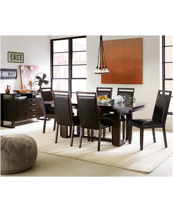 Red Dining Rooms Collection Interesting Design Decoration