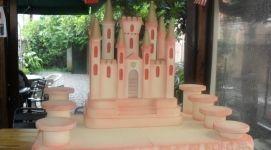 alzate per torte a fotma di castello