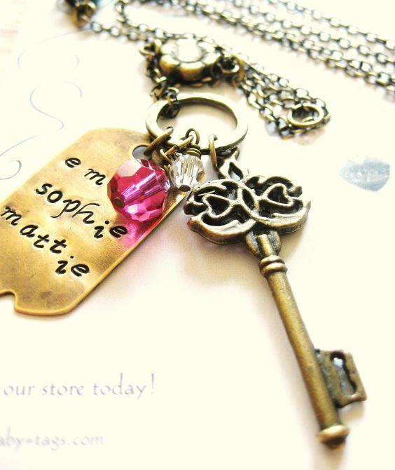 Vintage Romantic keys
