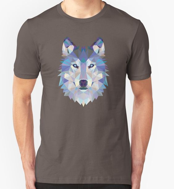Game Of Thrones Polygonal Dire Wolf   RedBubble Unisex Dark Grey TShirt   All Sizes Available for Men and Women @redbubble