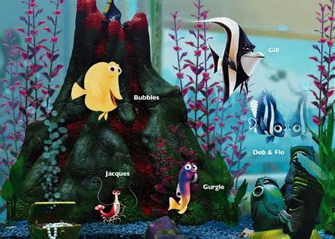 Tank fish finding nemo yahoo image search results for Finding nemo fish tank