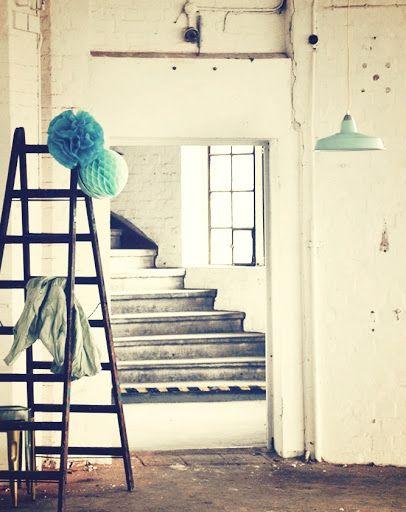 Fabriklampe blau Emaillelampe groß Lampe Emaille FACTORY BAUHAUS Loft Enamel | eBay