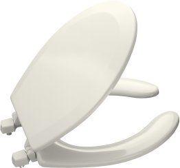 Kohler K-4660 Lustra Round Open-Front Toilet Seat