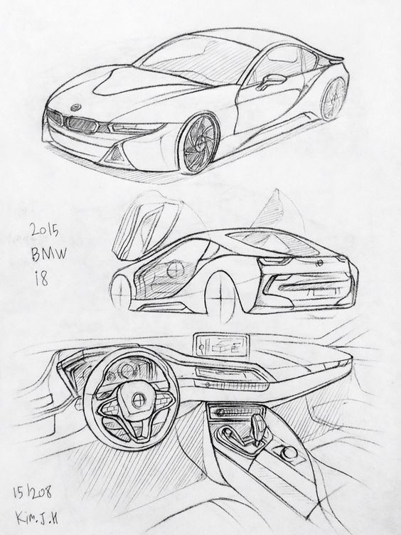 bmw i8 drawing related keywords suggestions bmw i8 drawing long Audi R8 GT car drawing 151208 2015 bmw i8 prisma on paper kimjh